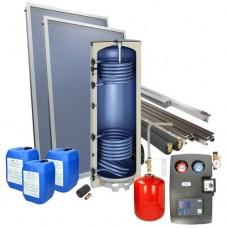 Zonneboiler schuindak 120 liter onderstel tapwaterboiler 1 collector