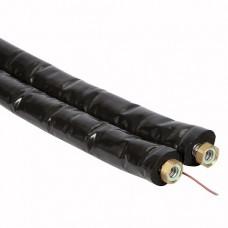 OEG Doppel-Edelstahlwellrohr DN16 mit 13 mm Isolierung 20 Mtr.