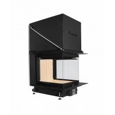 Inbouw Houtkachel Crystal 3D 50x60