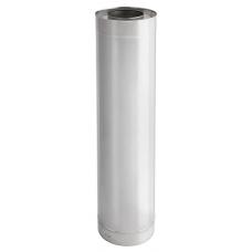 Rookkanaal Darco Dubbelwandig 150 Sectie L = 1000 mm