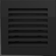 Convectierooster Black 17x17
