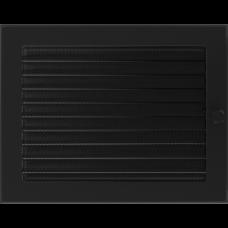 Convectierooster Black Afsluitbaar 22x30