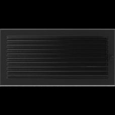 Convectierooster Black Afsluitbaar 22x45