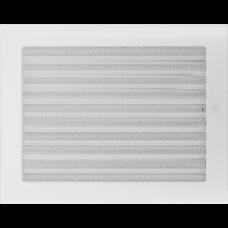 Convectierooster White afsluitbaar 22x30