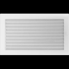 Convectierooster White afsluitbaar 22x37