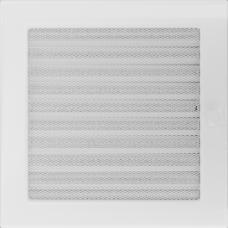 Convectierooster White afsluitbaar 22x22