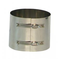 Brede Klemband Rvs tbv. Flexibel 150 mm