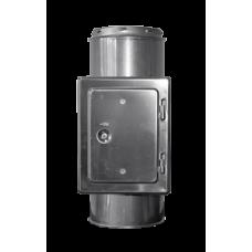 Rookkanaal 125 Dw. Inspectie Sectie L = 500 mm
