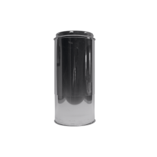 Rookkanaal 125 Dw. Schuifsectie L= 280 - 500 mm