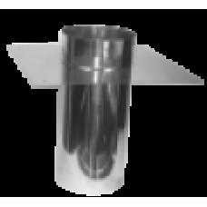 Topsectie met schoorsteenplaat 125 mm