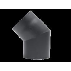 Kachelpijp 150 Staal 2 mm Bocht 45 Graden