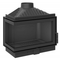 Inbouw Houtkachel  KFD Eco Max7 Links Glas Standard